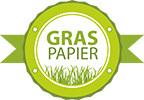 Graspapier ist umweltfreundlich