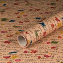 gift wrapping paper Colors 10 x 0,7 m, kraft paper