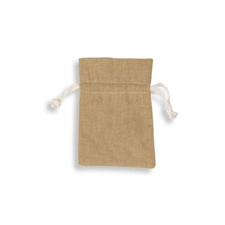 Cotton bag with drawstring, different colors, 17 x 24 cm
