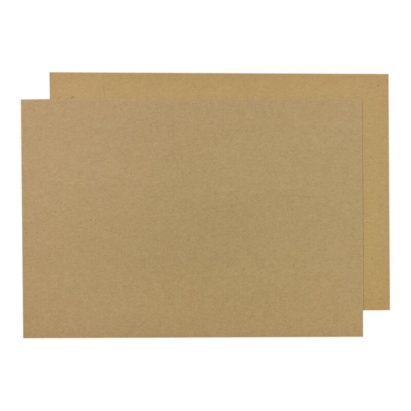 Kraft cardboard A3, A3+, SRA3, 50 x 70 cm, 244 g/m², brown, for crafting