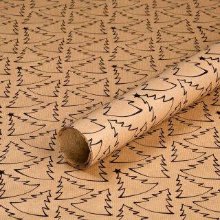 1 Rolle 0,7 x 10 m gerippt 60 g//m/² Geburtstagspapier Geschenkpapier AUBERGINE und LIMETTE zweiseitig bedruckt Kraftpapier Weihnachtspapier