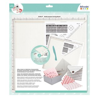 Folding and drawing board 30,5 x 30,5 cm, scrapbooking...