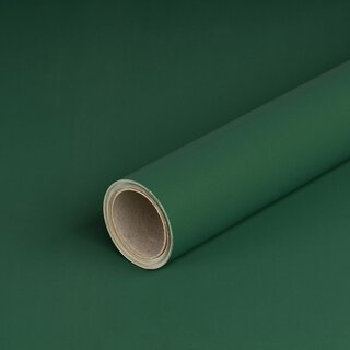 Wrapping paper double-face, green-gold, 0,7 x 10 m, roll