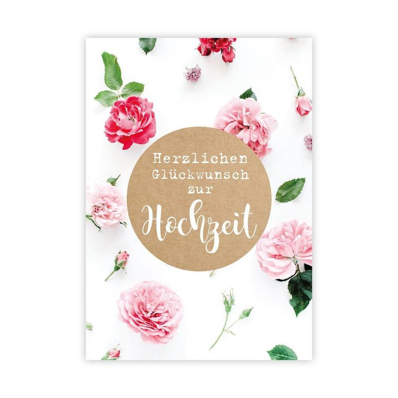 12 Gift cards Wedding with clip, A8