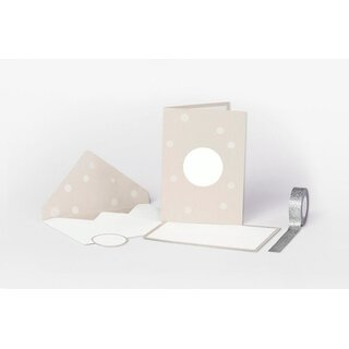 NIO 6 Envelopes and cards natural with white area