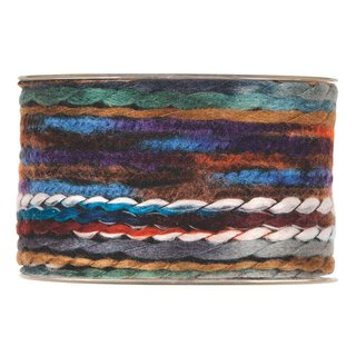 Multicolor wool ribbon 63 mm x 5 m