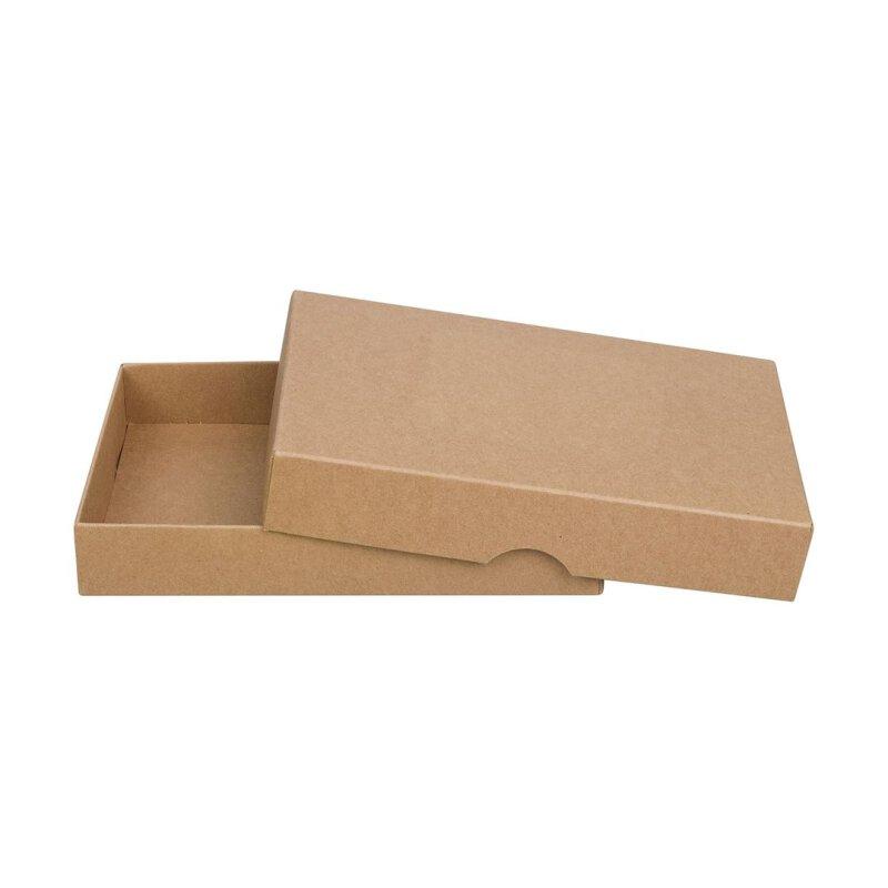 10 X Faltschachtel 11 X 15 Cm Kraftkarton Deckel Jetzt Kaufen