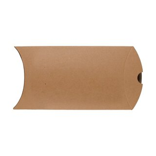 Pillow Box C6, 162 x 114 mm, cardboard, beige, Manila...