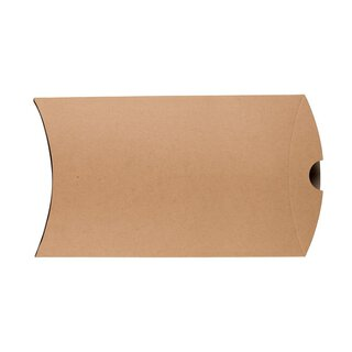 Pillow Box C5, 229 x 162 mm, cardboard, beige, Manila Kraft