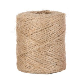 Jute twine,natural, jute string, 100 g, approx. 50 m,...