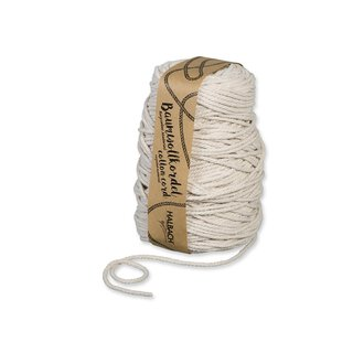 Cord made of recycled cotton, 5 mm x 80 m, approx. 500 g,...
