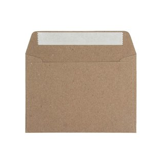 Envelope C6, 114 x 162 mm, recycled paper 110 g/m²,...