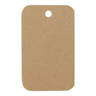 Hang tag 27.02, 48 x 78 mm, labels kraft cardboard - 50...