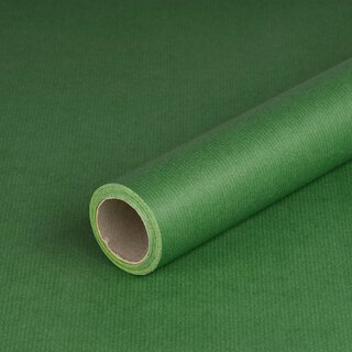 Gift wrapping paper green and lime double-sided, kraft...