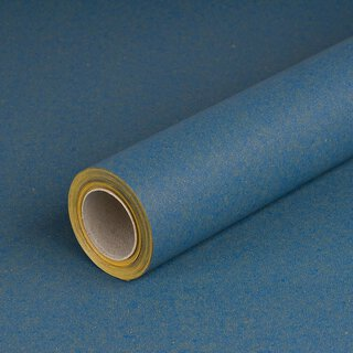Gift wrapping paper solid Blue, recycled paper, smooth,...