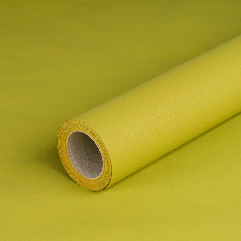 Gift wrapping paper light green 0,7 x 10 m, Recyclingpaper