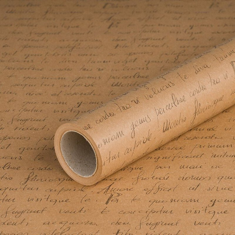 Wrapping paper Letter 0,7 x 10 m, kraft paper, roll