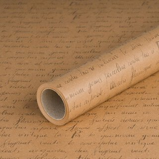 Gift wrapping paper Letter, kraft paper, smooth, 60 g/m²...