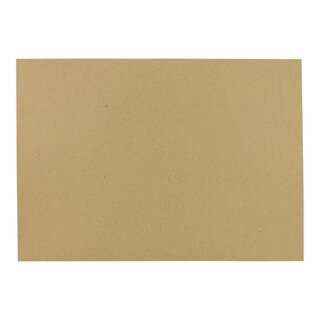 A4 kraft paper 100 g/m², smooth, brown, craft paper