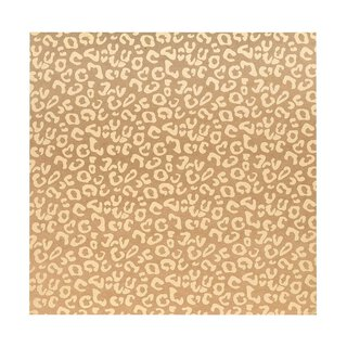 Bazzill Classic Power 30 x 30 cm with gold embossing leopard