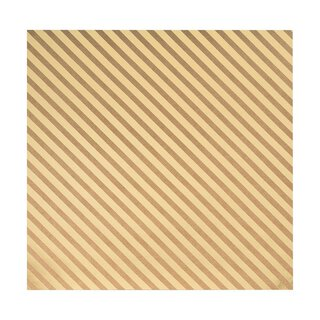 Bazzill Classic Power 30 x 30 cm with gold embossing stripes