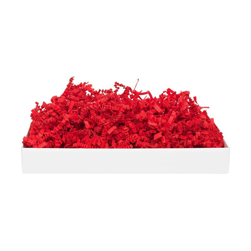 SizzlePak Bright red 029, coloured fill and cushioning paper