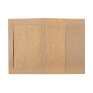 Photo folder 15 x 20 cm with passepartout and pocket - 10...