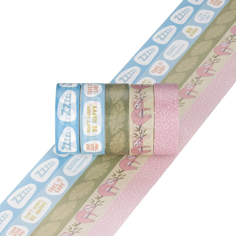 Washi Tape NO STRESS - 5 Rollen